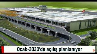 İnşaatı Süren Havalimanlarının Son Durumu : Gümüşhane-Bayburt, Tokat, Gaziantep  (2019 Mayıs)