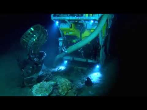 Bezos Expeditions / Apollo Program F-1 Rocket Engine Recovery / 720p HD / March 20, 2013