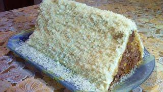 Десерт Снежный Домик/Зимний Домик/Dessert Snow Hut/Десерт Без Выпечки/Очень Простой Рецепт
