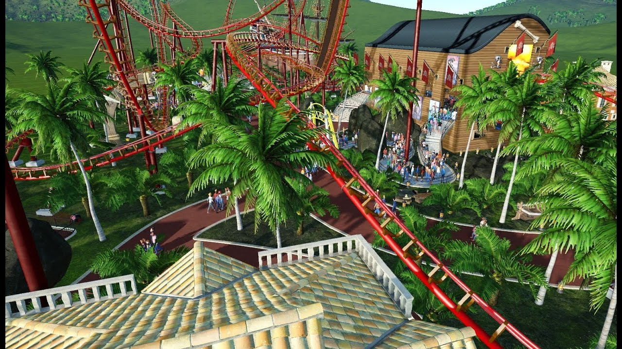 Planet coaster alpha 2 jungle trail youtube - Plante jungle ...