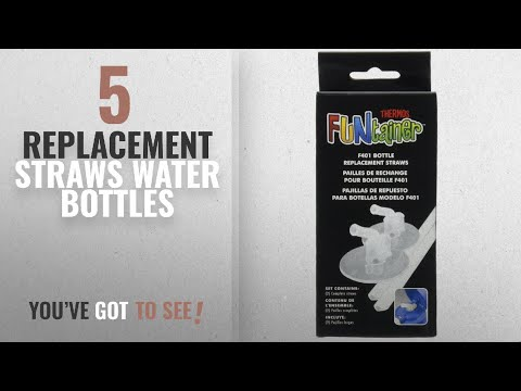 Best Replacement Straws Water Bottles [2018]: Thermos Replacement Straws For 12 Ounce Funtainer