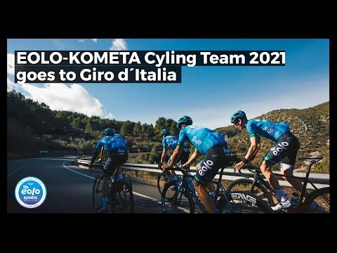 EOLO-KOMETA Cycling Team 2021 goes to GIRO D´Italia!