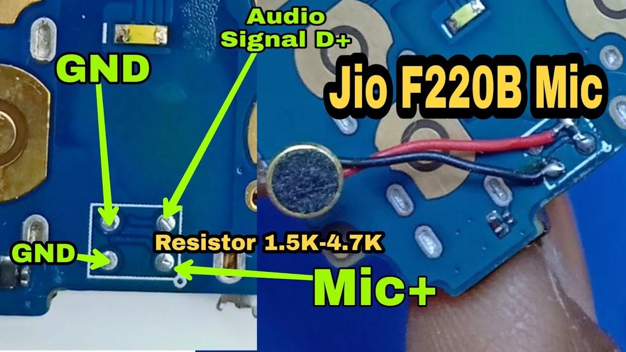 F 220 B Mic Jumper