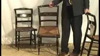 1800s Hitchcock Style Chairs  Mi36   Ohio's Old Wood Market