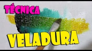 Veladura - Técnica - Pintura Sem Frescura