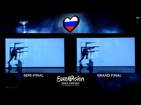 Sergey Lazarev - You Are The Only One | Semi-Final vs Grand Final (Russia - Eurovision 2016)