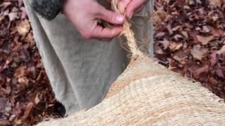 Basswood Dress Weaving