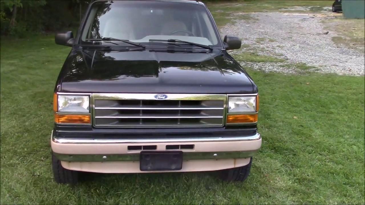 1994 ford explorer eddie bauer 4wd black for sale
