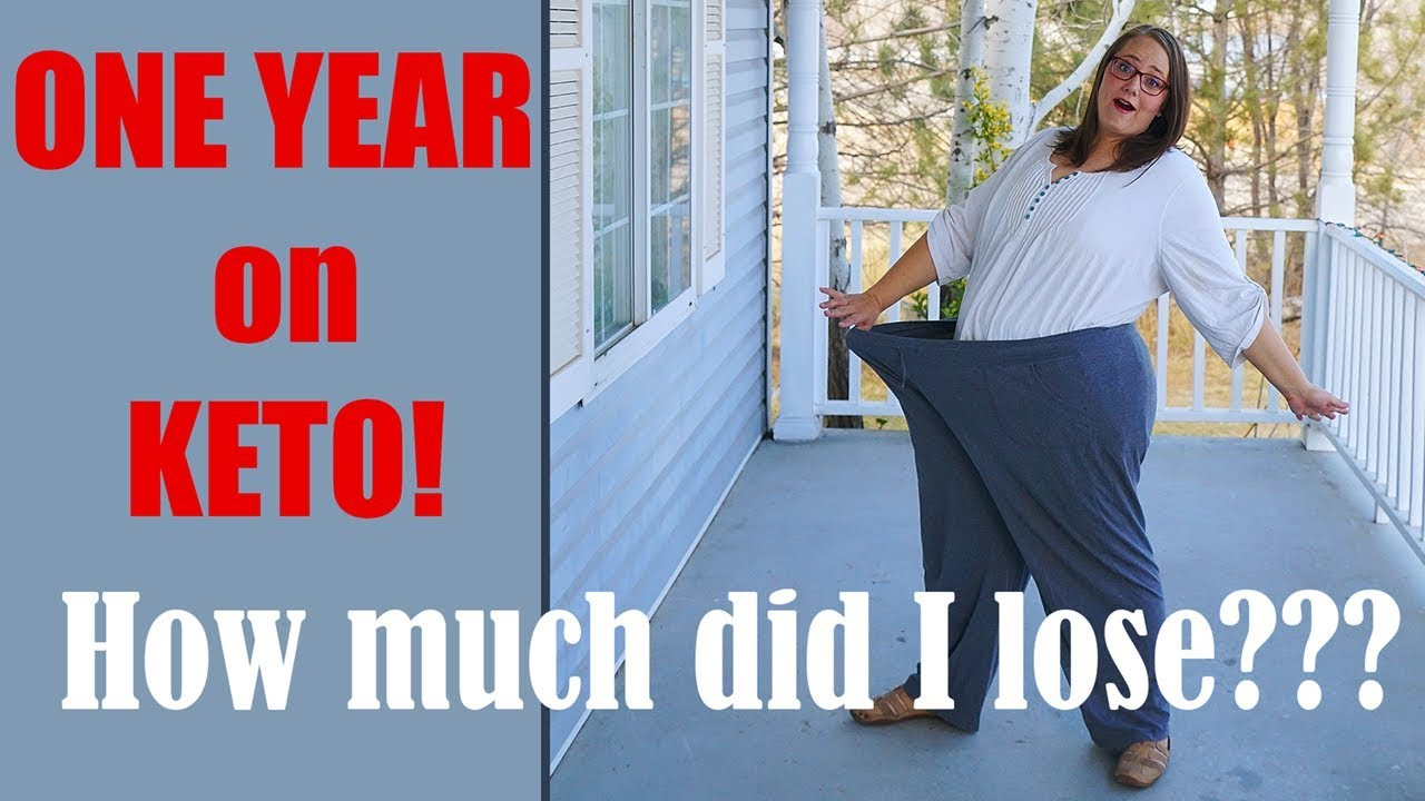 One Year on KETO Results! Ketogenic diet before and after ...
