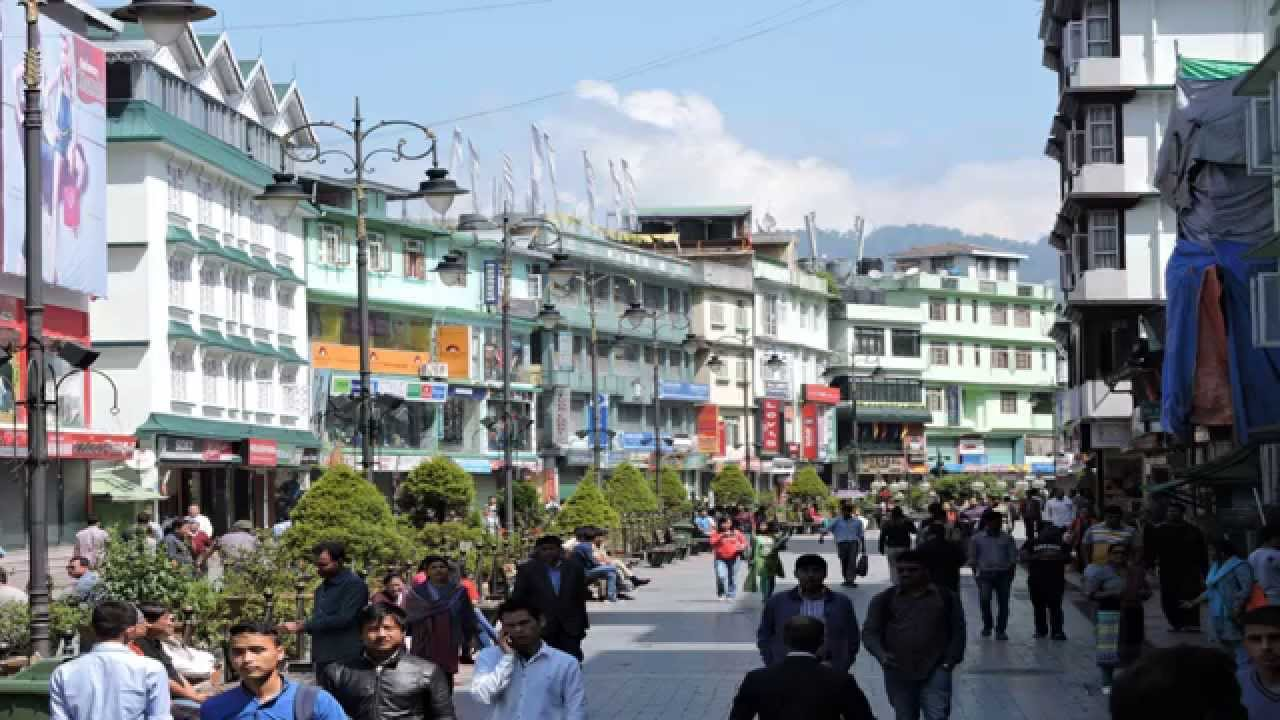 Gangtok Tourism Sikkim Hotels At Mg Marg