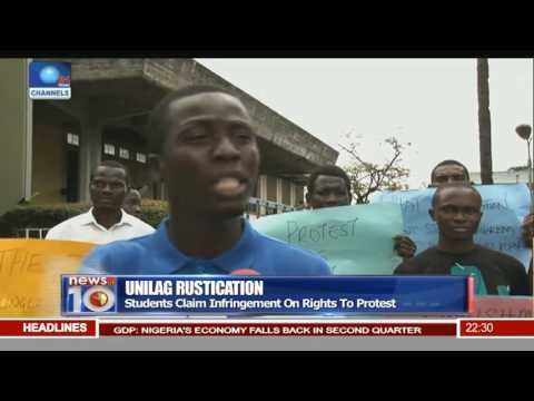 Unilag Rustification: Students Claim Infringement On Rights To Protest