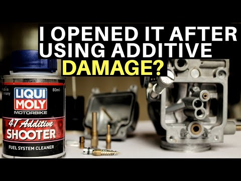 I OPENED MY CARBURETOR AFTER USING LIQUI MOLY FUEL SYSTEM CLEANER TVS APACHE RTR 200 CARB CLEANING