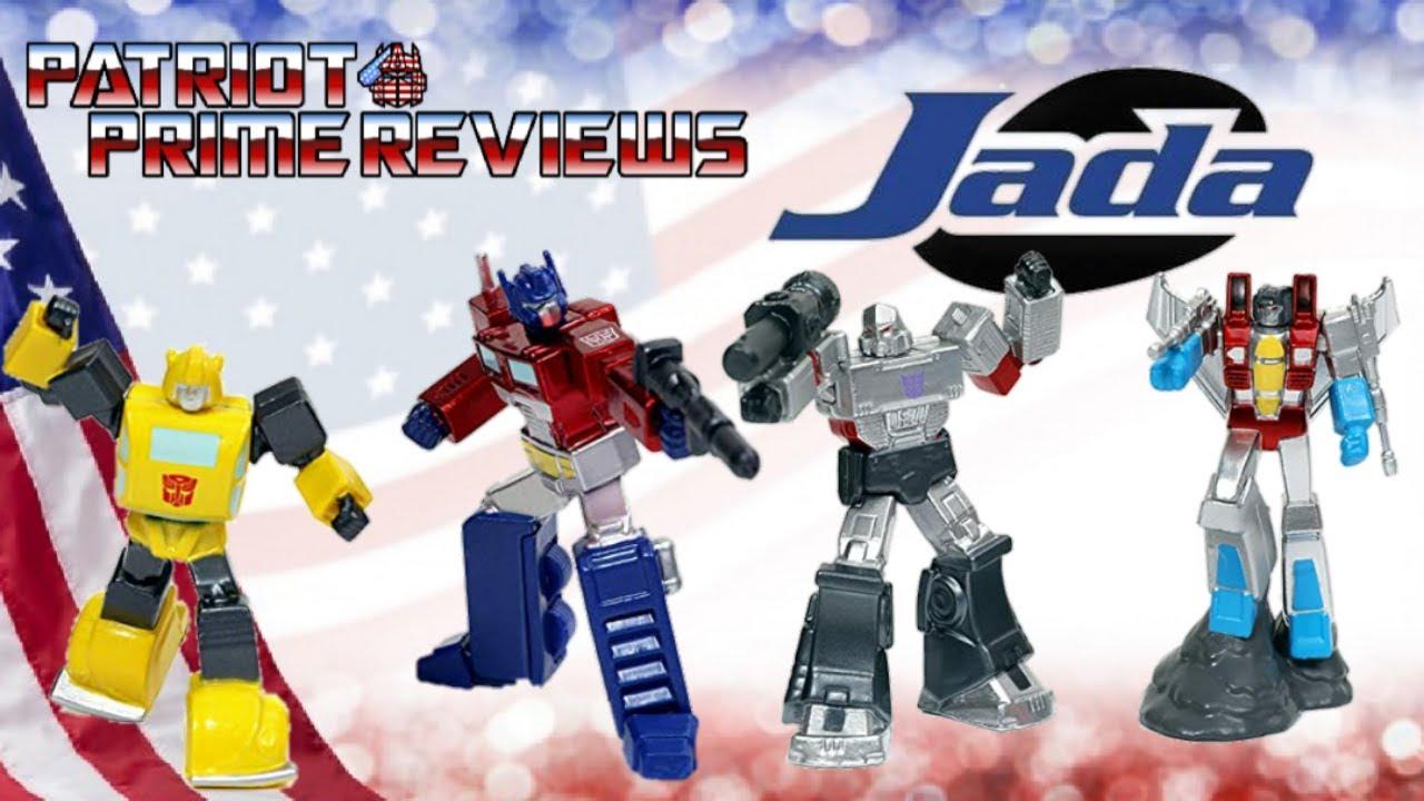 Patriot Prime Reviews Jada Die-Cast Transformers Diorama Scene