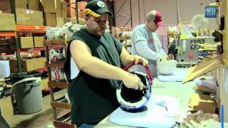 The Making of a Presidential Football Helmet