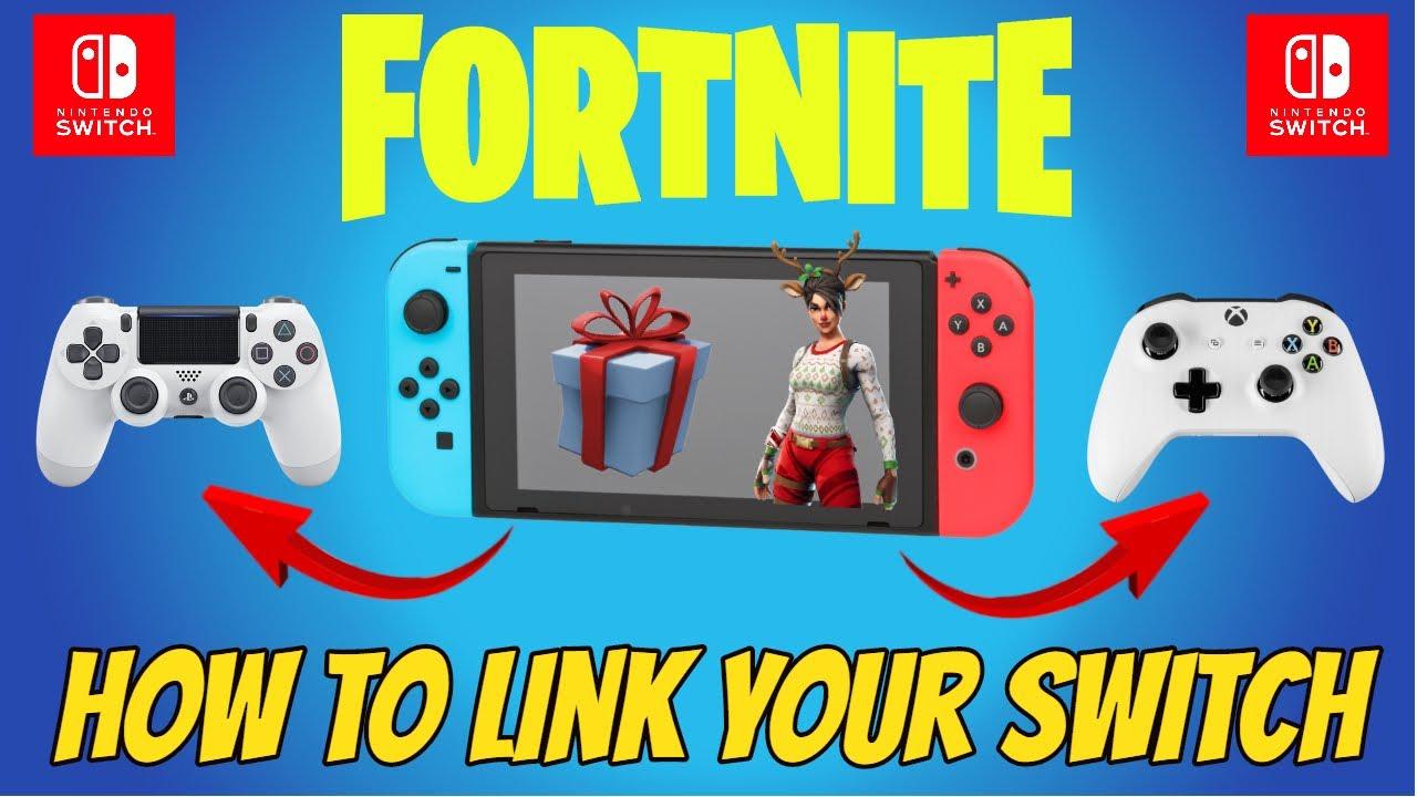 Fortnite Cross Platform Linked Wrong Xbox Account Link Fortnite Account To Nintendo Switch Youtube