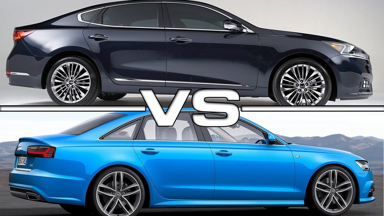 kia cadenza vs audi a6 road test youtube. Black Bedroom Furniture Sets. Home Design Ideas