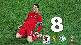 Cristiano Ronaldo - Wszystkie bramki na Mistrzostwach Świata ᴴᴰ