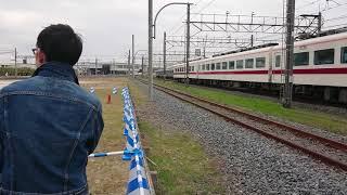 【東武ファンフェスタ2018】長い昼休み中の352F【急行ゆのさと】