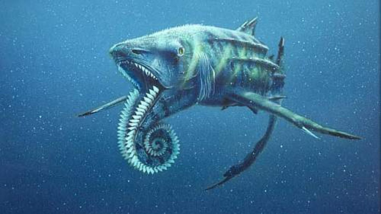 Prehistoric Sea Creature by Sergon on DeviantArt |Scariest Prehistoric Sea Creatures