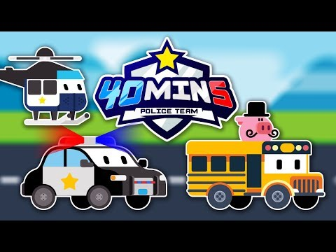 Appmink Team Police Chase Part 2 | Police Car & Police Helicopter - appMink Playlist 44 mins