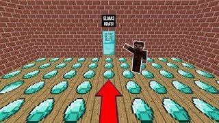 BEBEK FAKİR GİZLİ ELMAS ODASI BULDU! 😱 - Minecraft