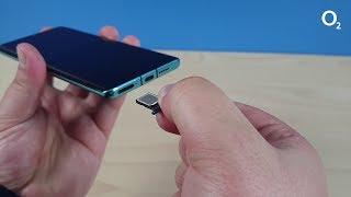 o2 SIM-Karte einlegen: Huawei P30 Pro