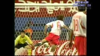「韓国 × イタリア」2002年W杯ハイライト