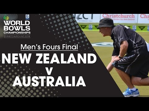 Men's Fours Final | New Zealand v Australia