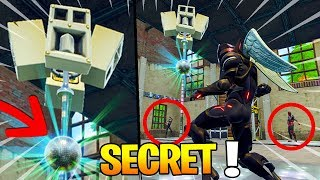 SECRET FACE TO LOOT LAKE on Fortnite: Battle Royale