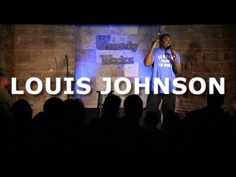 Louis Johnson - Storytime Time with Old Man Johnson - Comedy Works