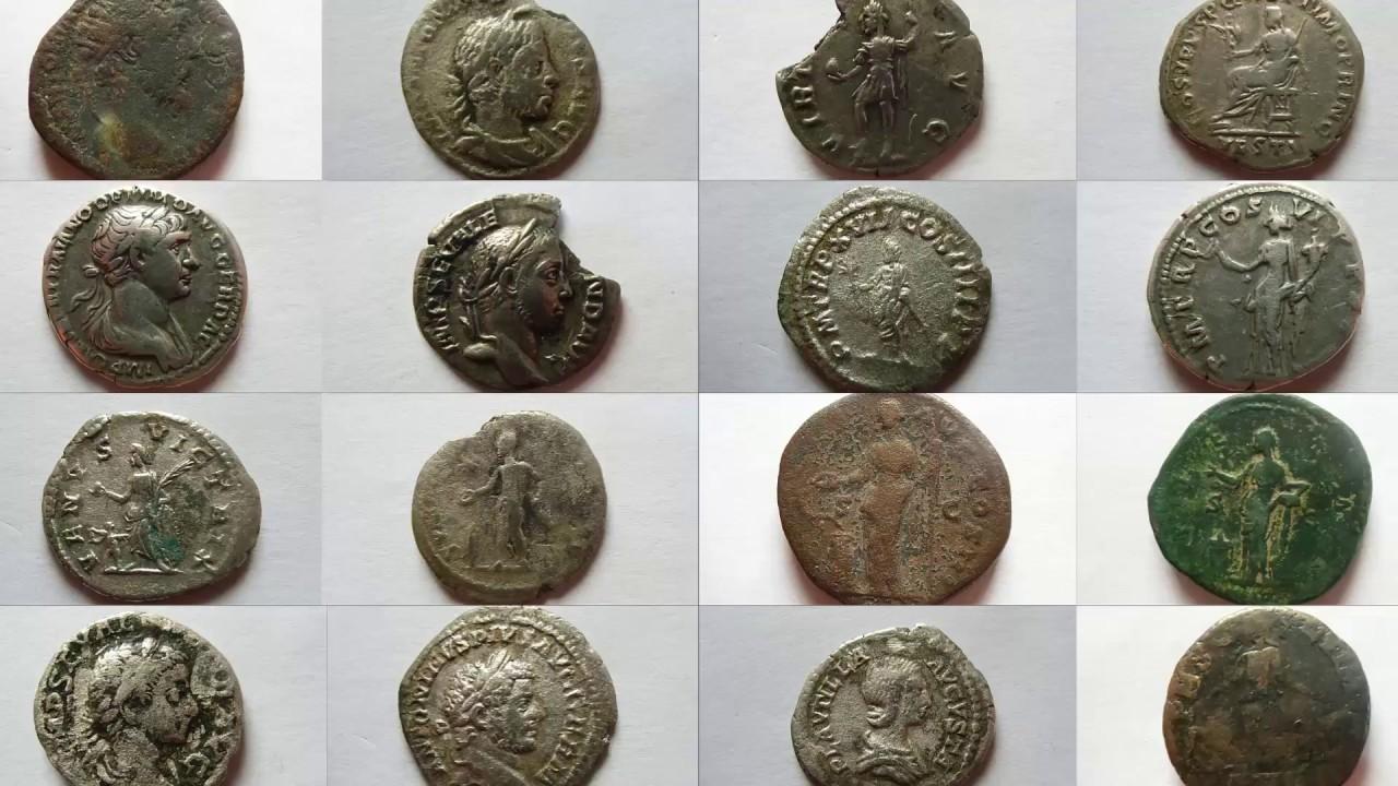 Römische Münzen Teil 12 Youtube