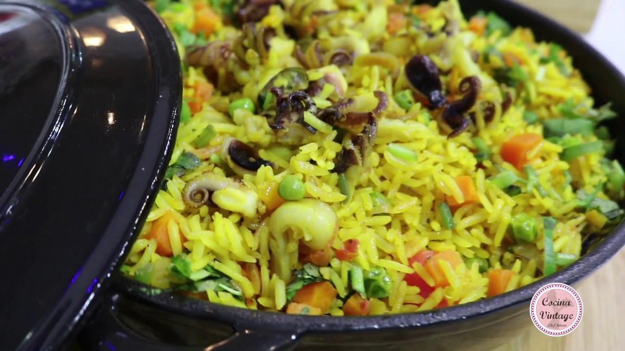 Arroz Con Mariscos Recetas Fáciles Y Deliciosas