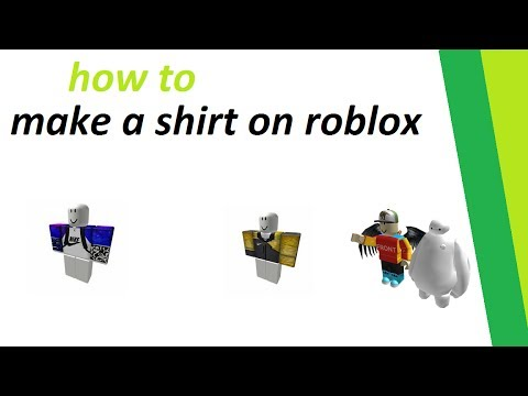 how to make a shirt on roblox (2017-2018) - YouTube
