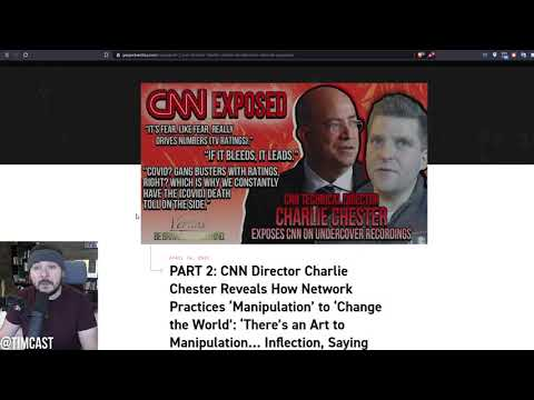 CNN Staffer EXPOSED Celebrating COVID Deaths For Ratings In New Project Veritas BOMBSHELL Report