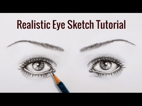 Diy pencil sketching tutorial how to draw realistic eyes sketch youtube