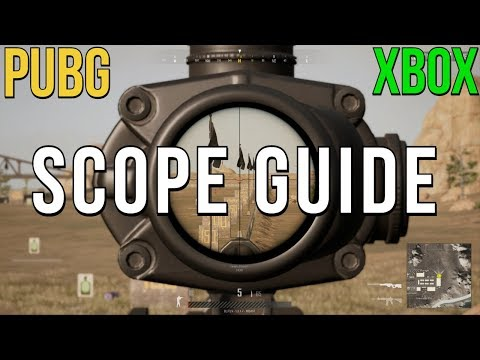 PUBG: Scope Guide & How to Use Reticles Down Range