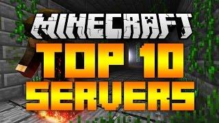 Top 10 Minecraft Servers (Minecraft 1.12/1.11.2) - 2017 [HD]