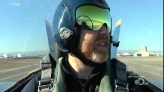 Part 1 Adam Savage flies supersonic in Boing FA18 Hornet