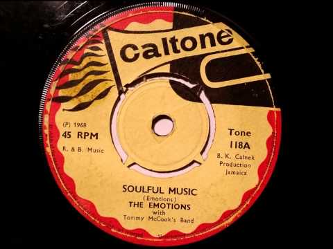 The Emotions Max Romeo - Soulful Music - Caltone