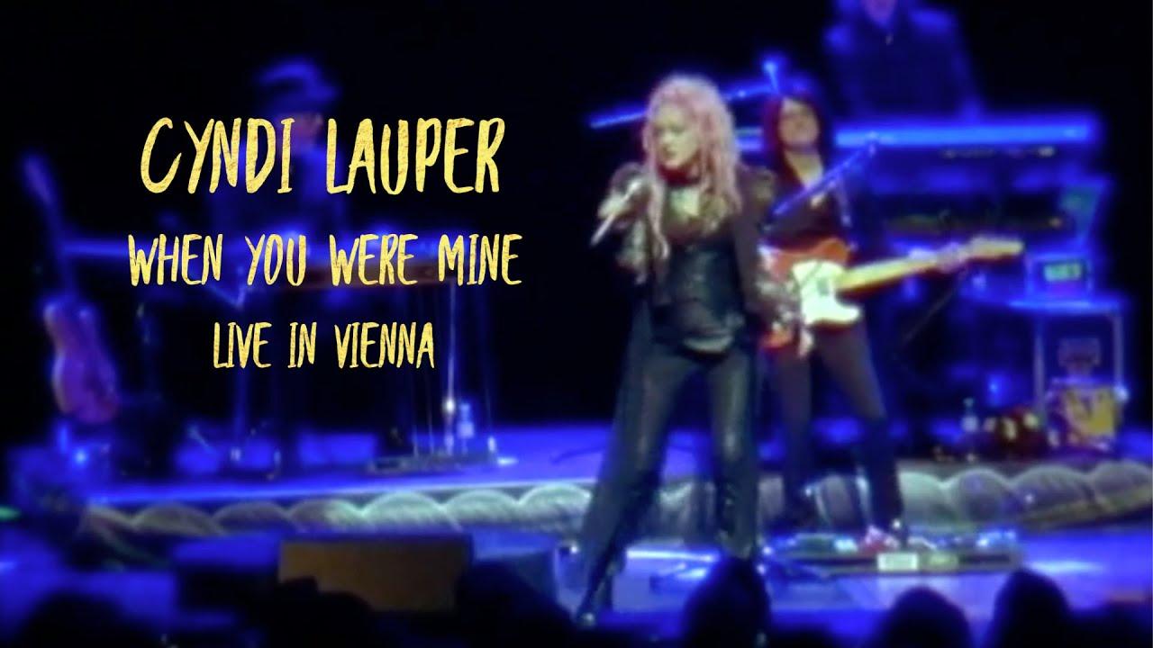 CYNDI LAUPER - WHEN YOU WERE MINE (Live in Vienna)
