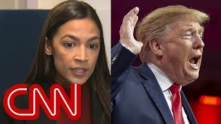 See Ocasio-Cortez's response to Trump's 'no collusion' claims