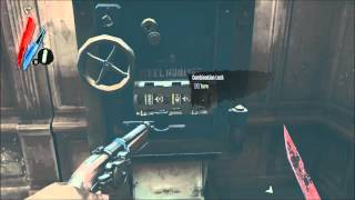 Dishonored: Safe Code [Galvani's office]