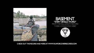 Watch Basement Every Single Word video
