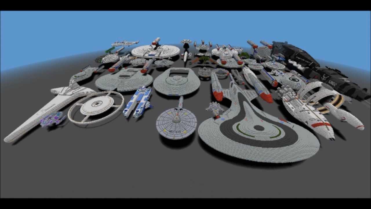 Minecraft Biggest Spaceship Fleet 1 Year Later Over 7