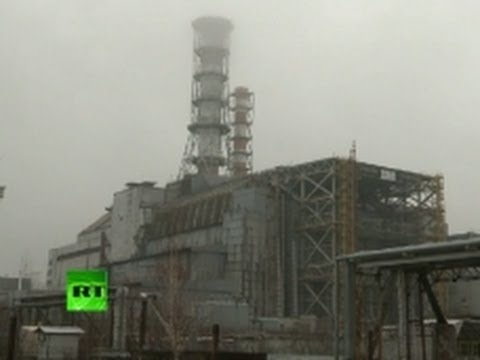 Radiation Roll-Over: Giant sarcophagus built at Chernobyl nuclear plant