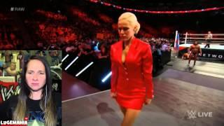 WWE Raw 5/4/15  Rusev vs Fandango Dances with Lana