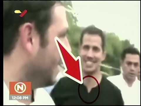 Rueda de prensa de Nestor Reverol sobre Juan Guaidó y Los Rastrojos