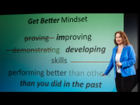 "Heidi Grant Halvorson: The Incredible Benefits of a ""Get Better"" Mindset"