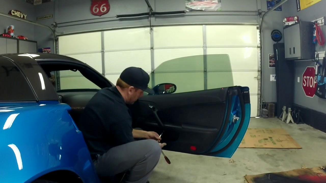 C6 Corvette Door Panel Removal Youtube