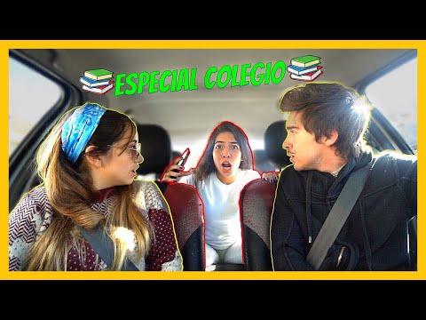 COSAS QUE PASAN EL AUTO ESPECIAL COLEGIO | Maria Becerra ft Alexis Sanzi